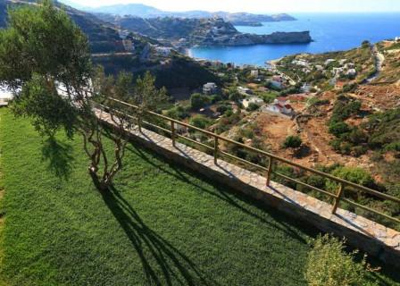 Exclusive-villa-in-Agia-Pelagia-Heraklion-Crete-for-sale-gardens